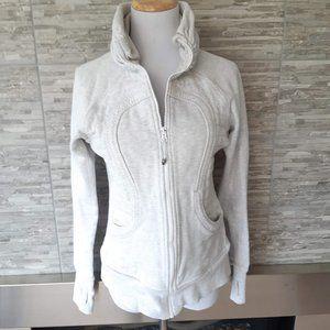 Lululemon light grey sweater